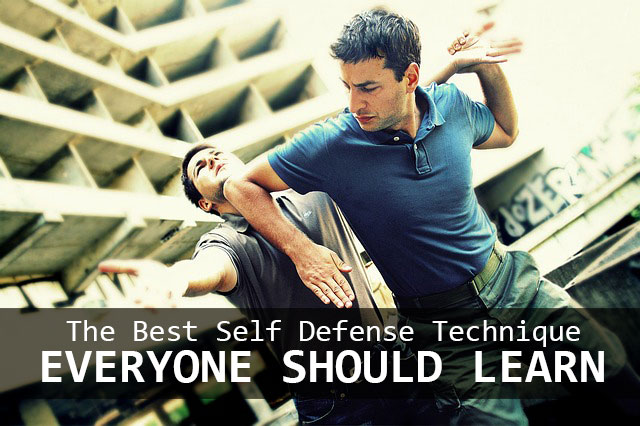 Best Self Defense Technique